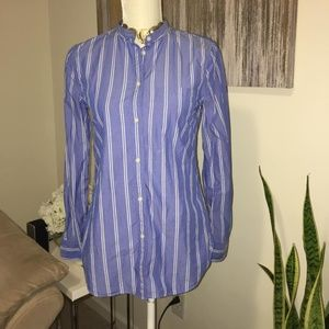 GAP fitted boyfriend shirt size XS